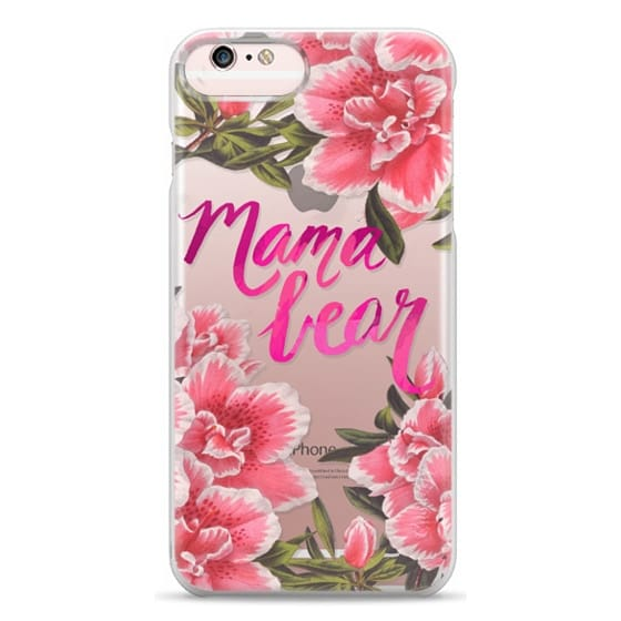 iPhone 6s Plus Cases - Mama Bear Fleurs by EttaVee