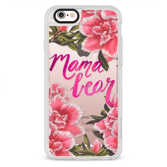 iPhone 6s Cases - Mama Bear Fleurs by EttaVee
