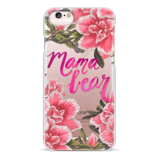iPhone 6s Cases - Mama Bear Fleurs by EttaVee