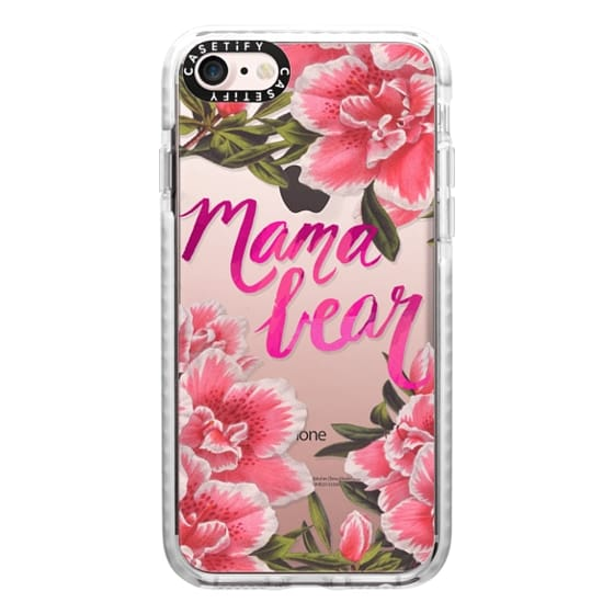 iPhone 7 Cases - Mama Bear Fleurs by EttaVee