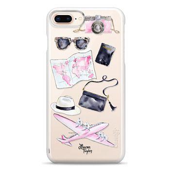 Snap iPhone 8 Plus Case - Voyage (Semi-Transparent)