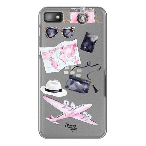 Blackberry Z10 Cases - Voyage (Semi-Transparent)