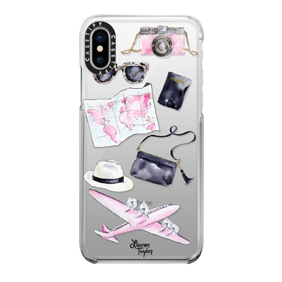 iPhone X Cases - Voyage (Semi-Transparent)