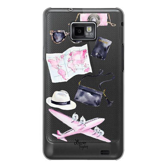 Samsung Galaxy S2 Cases - Voyage (Semi-Transparent)
