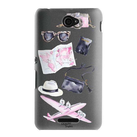Sony E4 Cases - Voyage (Semi-Transparent)