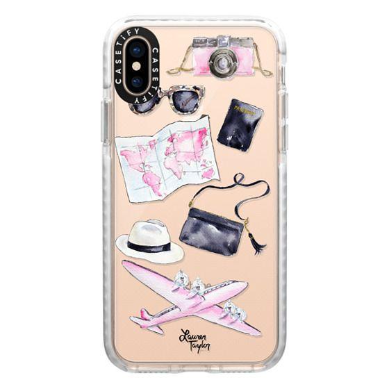 iPhone XS Cases - Voyage (Semi-Transparent)