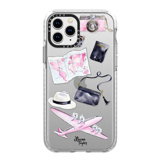 iPhone 11 Pro Cases - Voyage (Semi-Transparent)