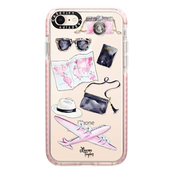 iPhone 8 Cases - Voyage (Semi-Transparent)