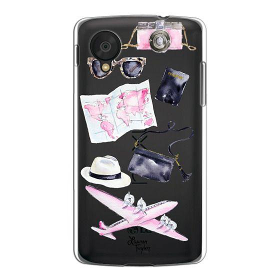 Nexus 5 Cases - Voyage (Semi-Transparent)