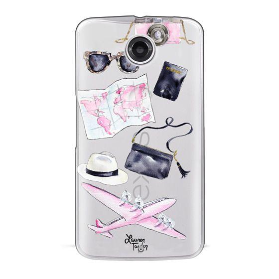 Nexus 6 Cases - Voyage (Semi-Transparent)