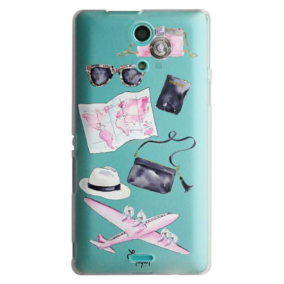 Sony Zr Cases - Voyage (Semi-Transparent)