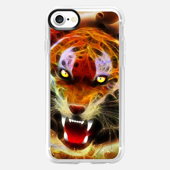 Cosmic Fire Tiger Roar - Snap Case