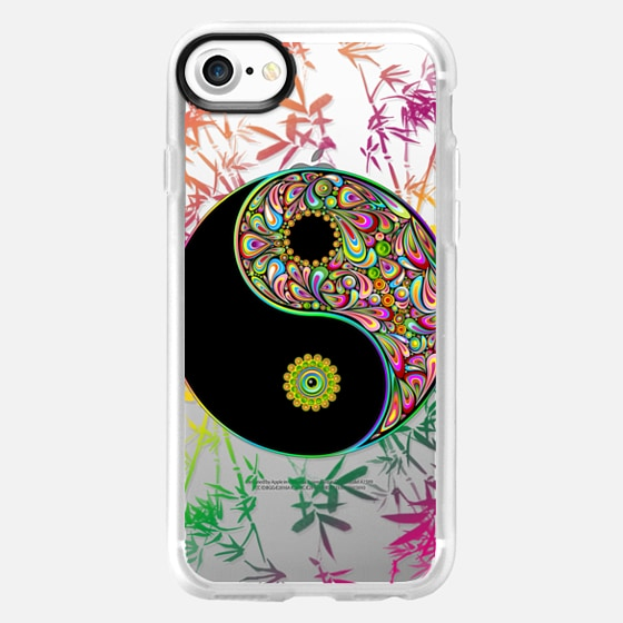 Yin Yang Psychedelic Sign - Classic Grip Case