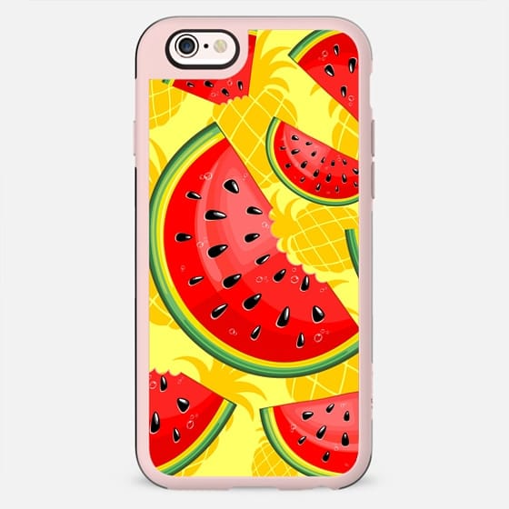 Watermelon and Pineapple Juicy Pattern - New Standard Case