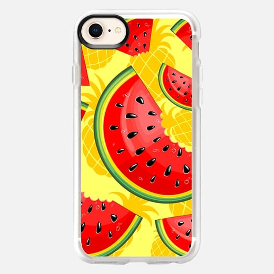 Watermelon and Pineapple Juicy Pattern - Snap Case
