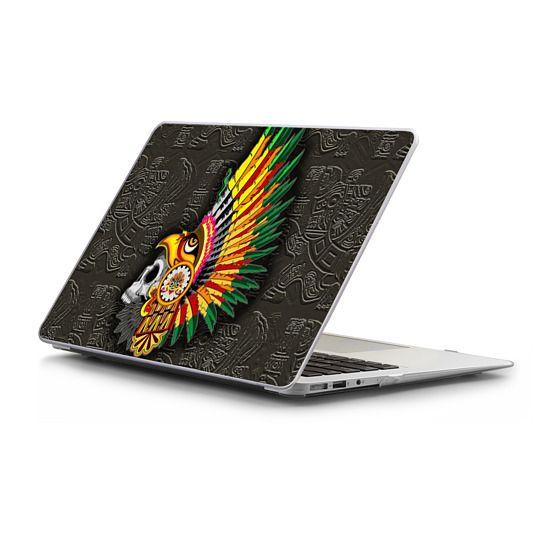 MacBook Air 13 Sleeves - Aztec Eagle Warrior Skull