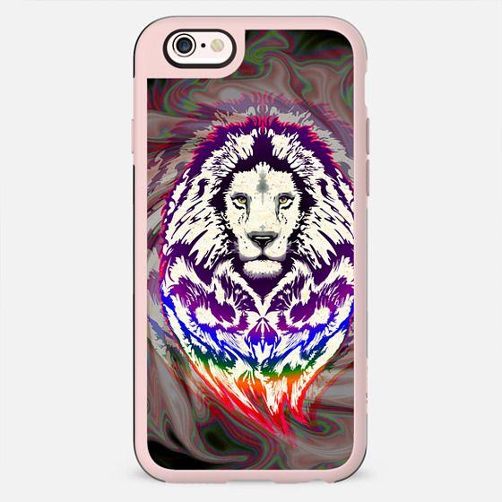 Lion Psychedelic Pop Art - New Standard Case