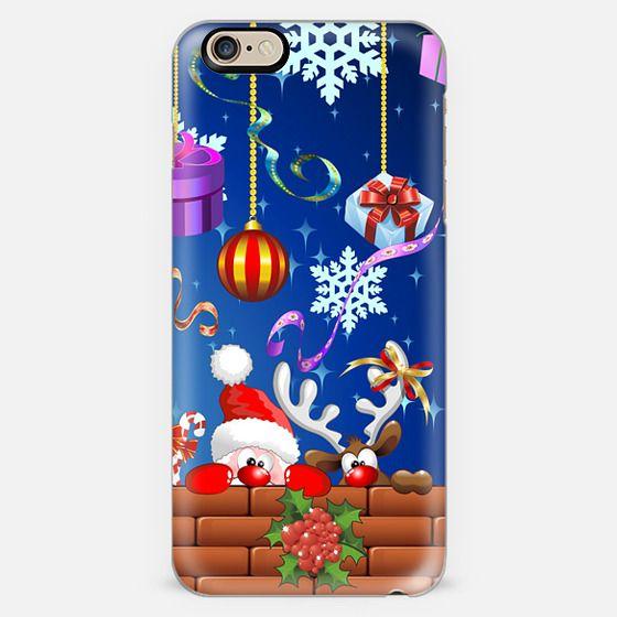 Santa Claus and Reindeer Fun Cartoons -