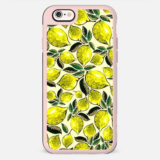 Lemons Juicy Vintage Style Pattern  - New Standard Case