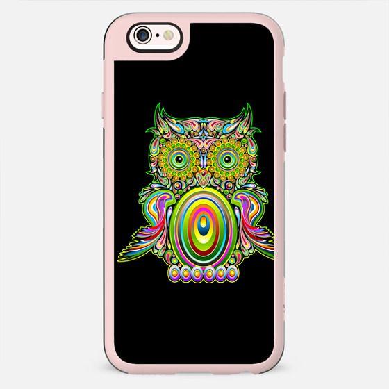 Owl Psychedelic Pop Art - New Standard Case