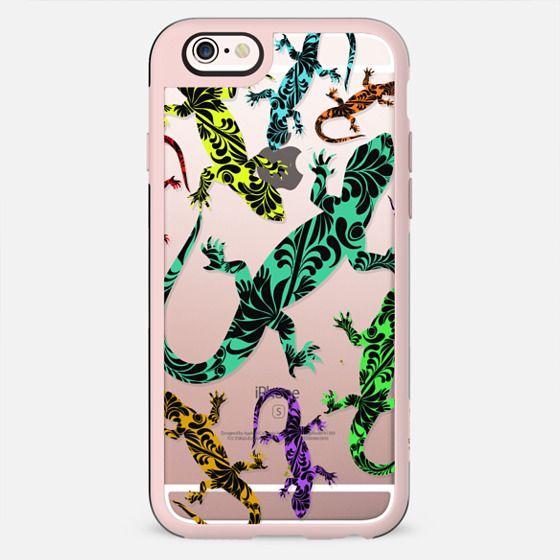 Gecko Deco Multicolors Pattern - New Standard Case