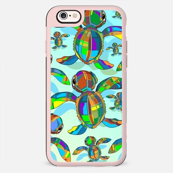 Baby Sea Turtle Fabric Toy - New Standard Case