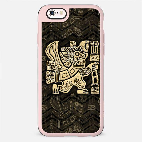 Aztec Eagle Warrior Tribal Art - New Standard Case