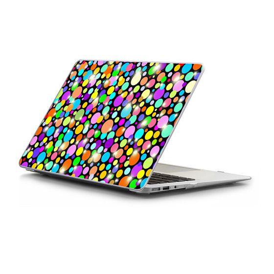 MacBook Air 13 Sleeves - Polka Dots Psychedelic Colors
