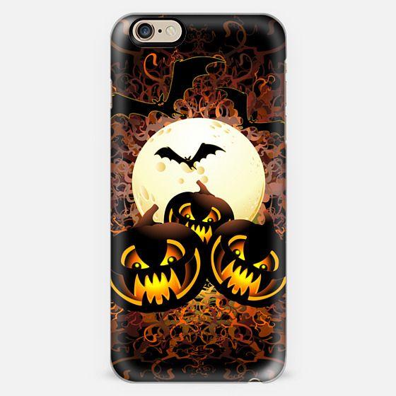 Black Pumpkins Halloween Night -