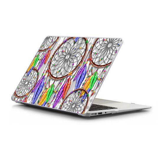 MacBook Air 13 Sleeves - Dreamcatcher Rainbow Feathers