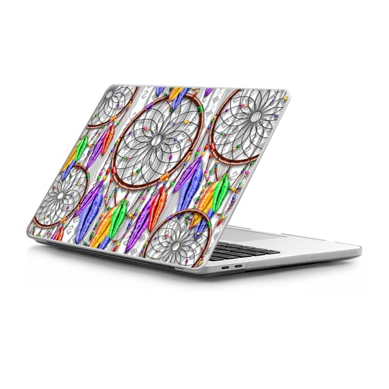 MacBook Pro Touchbar 13 Sleeves - Dreamcatcher Rainbow Feathers
