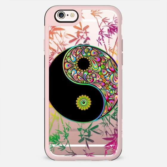 Yin Yang Psychedelic and Bamboo - New Standard Case