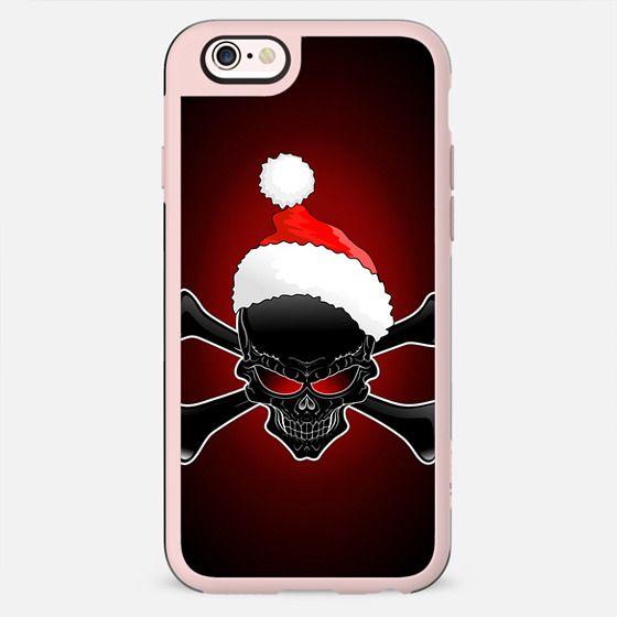Christmas Santa Black Skull - New Standard Case