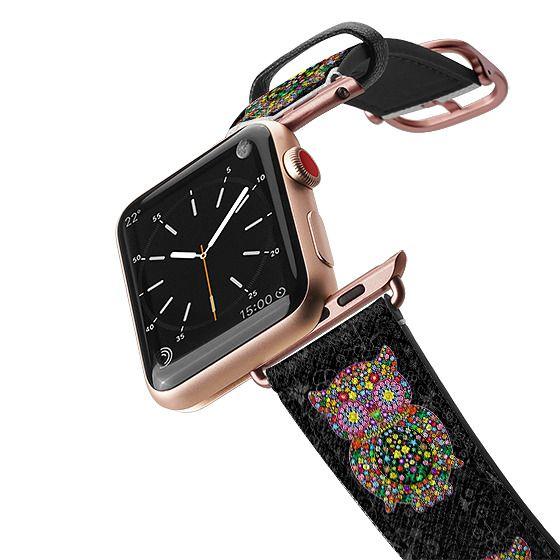 Apple Watch 42mm Bands - Owl Zentangle Floral