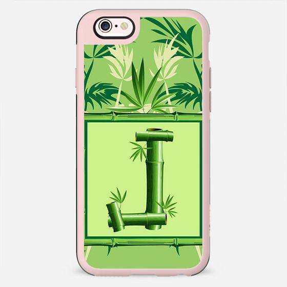 Monogram Bamboo J Green Zen Nature - New Standard Case
