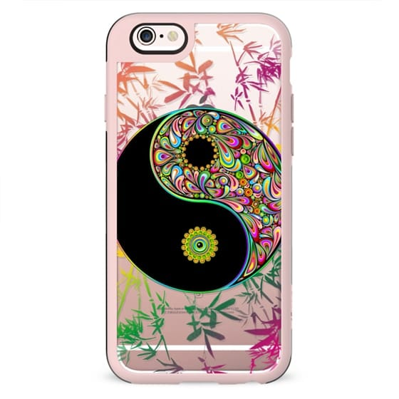 Yin Yang Psychedelic and Bamboo