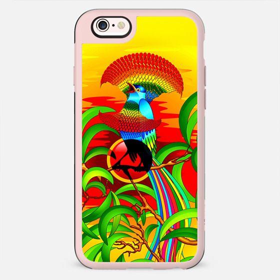 Exotic Paradise Bird Fantasy - New Standard Case