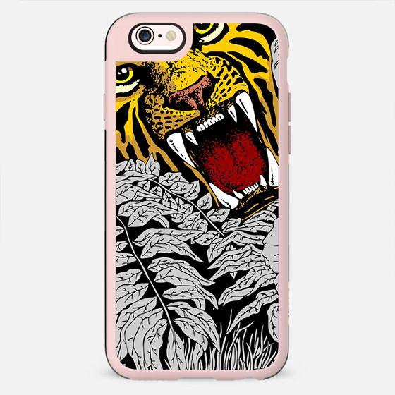 Wild Tiger Roar Doodle Art - New Standard Case