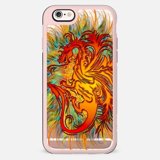 Dragon Psychedelic Fire - New Standard Case