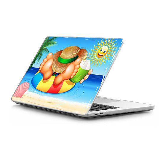 MacBook Pro Touchbar 13 Sleeves - Summer Relax on the Sea
