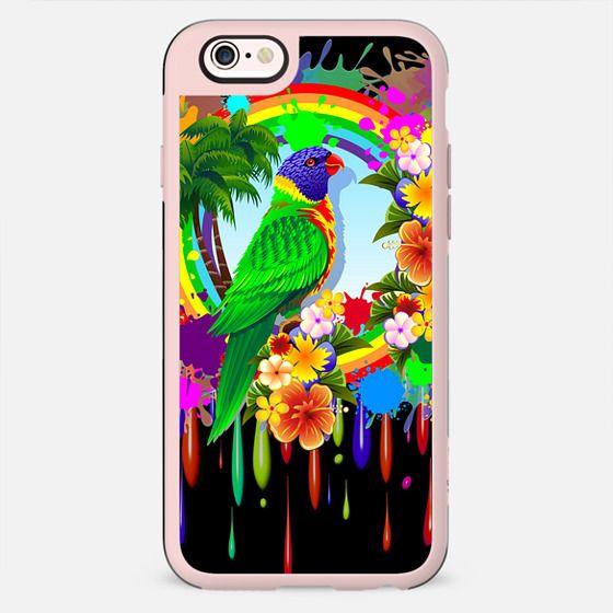 Rainbow Lorikeet Parrot Art - New Standard Case