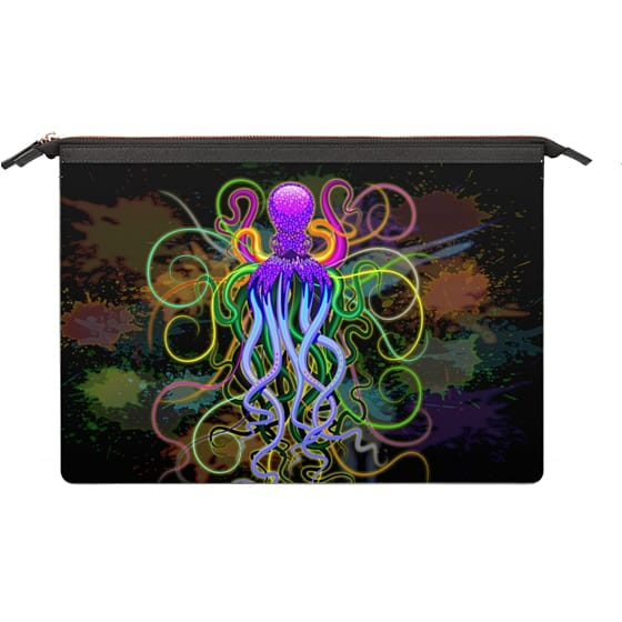 MacBook 12 Sleeves - Octopus Psychedelic Luminescence