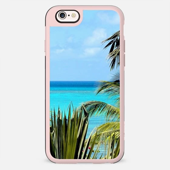 Turquoise Tropical Paradise - New Standard Case
