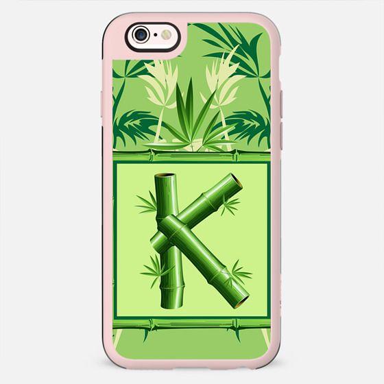 Monogram Bamboo K Green Zen Nature - New Standard Case