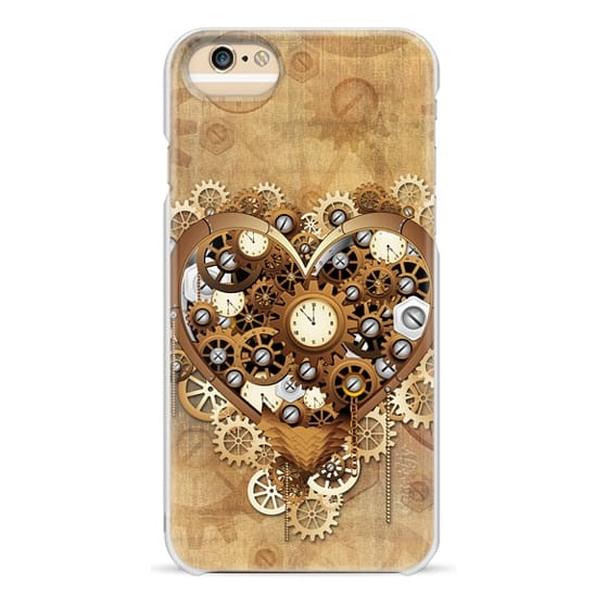 iPhone 6s Cases - Steampunk Love Heart Retro Style