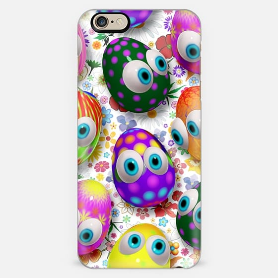 3d Cute Easter Eggs Cartoon -