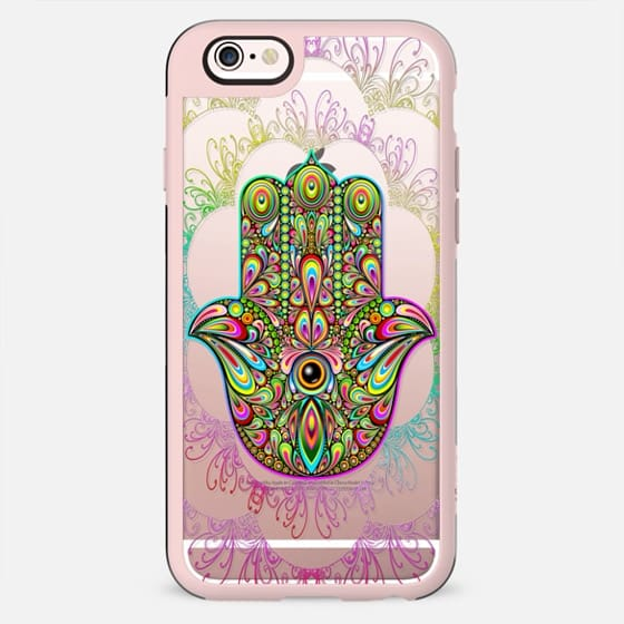 Hamsa Hand Amulet Psychedelic - New Standard Case