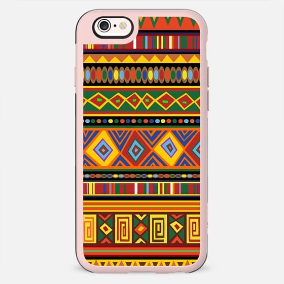 Ethnic Colorful Pattern Africa Art -
