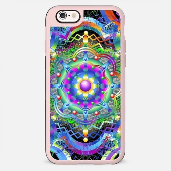 Mandala Universe Psychedelic Colors -