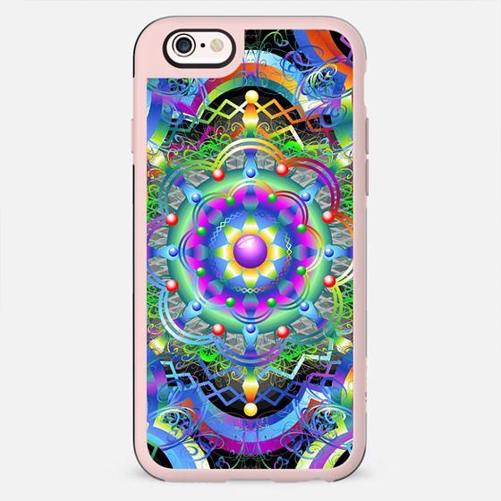 Mandala Universe Psychedelic Colors -